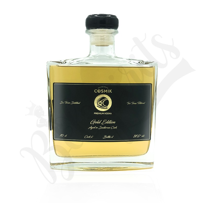 Cosmik Vodka Gold Edition