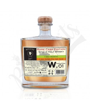 August 17th Whisky Rare Cask W.01 - Finition Marsala