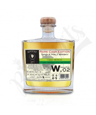 August 17th Whisky Rare Cask W.02 - Laphroaig Finish