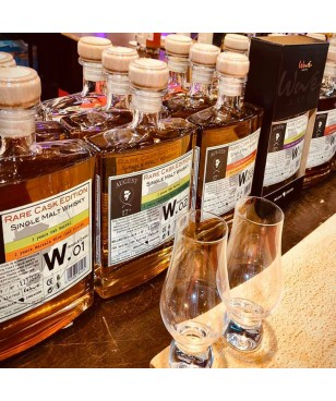 August 17th Whisky Rare Cask W.02 - Finition Laphroaig