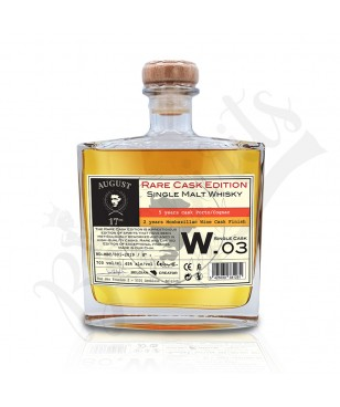 August 17th Whisky Rare Cask W.03 - Finition Monbazillac