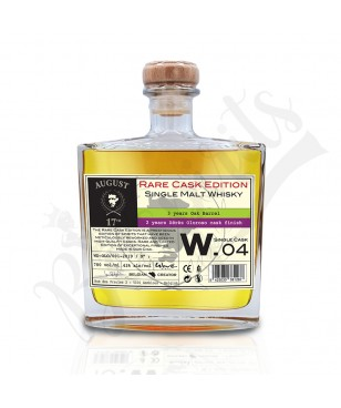 August 17th Whisky Rare Cask W.04 - Olorosso Finish