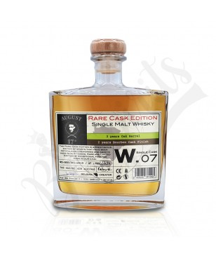 August 17th Whisky Rare Cask W.07 - Bourbon Finish