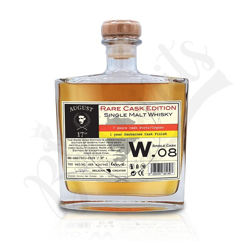 August 17th Whisky Rare Cask W.08 - Finition Sauternes