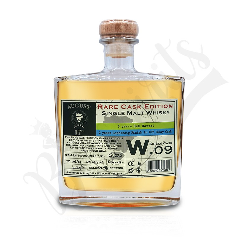 August 17th Whisky Rare Cask W.09 - Laphroaig Finish