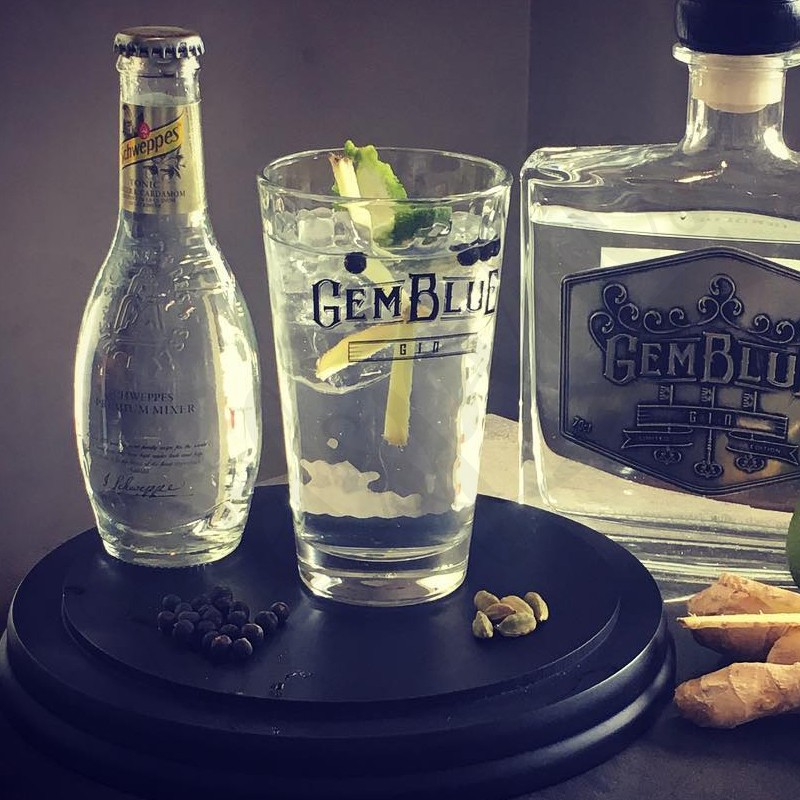 Gemblue Gin Glass