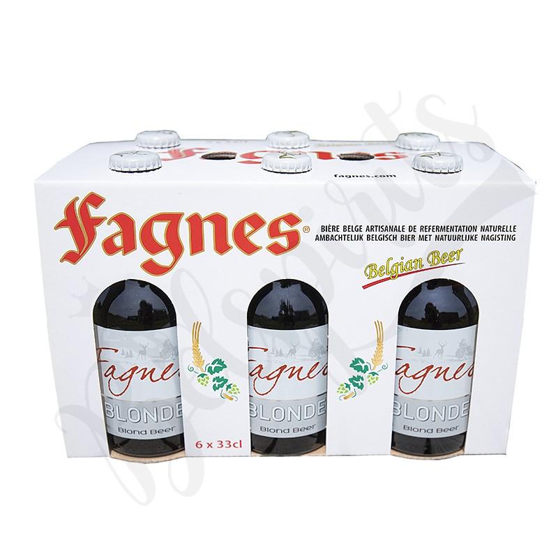 Coffret Fagnes Blonde - 6 x 33 cl