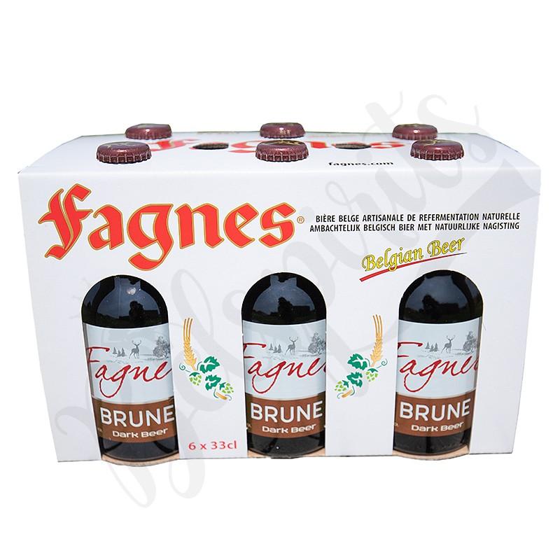 Coffret Fagnes Brune - 6 x 33 cl