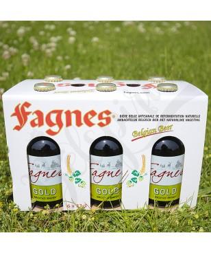 Box Fagnes Gold - 6 x 33 cl