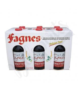 Coffret Fagnes Griottes - 6 x 33 cl