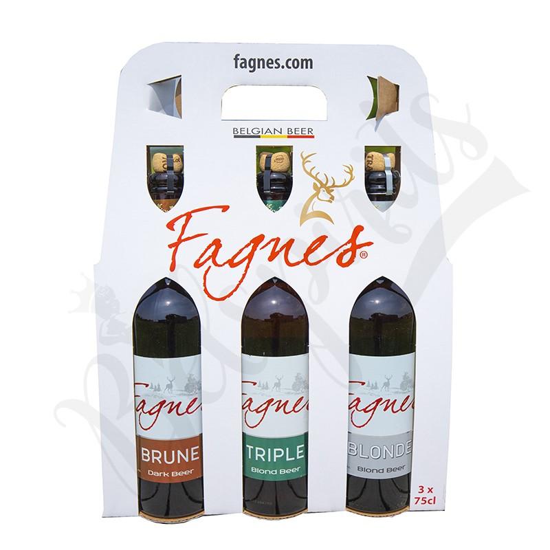 Coffret Fagnes Blonde/Triple/Brune - 3 x 75 cl
