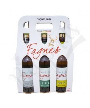 Coffret Fagnes Blonde/Triple/Gold - 3 x 75 cl