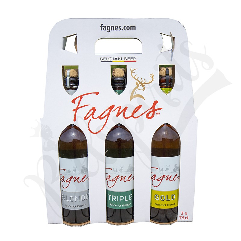 Box Fagnes Blonde/Triple/Gold - 3 x 75 cl