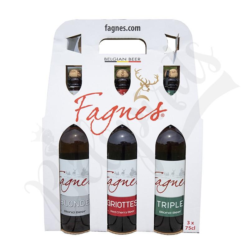 Coffret Fagnes Blonde/Triple/Griottes - 3 x 75 cl
