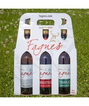 Box Fagnes Blonde/Triple/Griottes - 3 x 75 cl