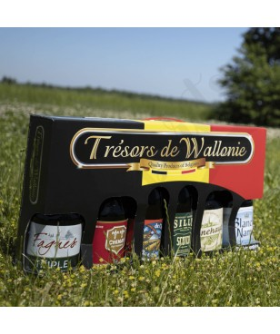 "Coffret ""Trésors de Wallonie"""
