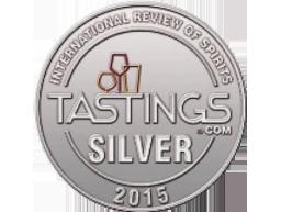 Zilveren medaille in 2015 - International review of spirits