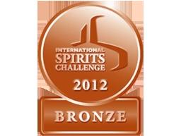 Bronzen medaille in 2012 - International Spirits Challenge