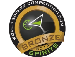 Bronzen medaille in 2014 - World Spirits Competitio