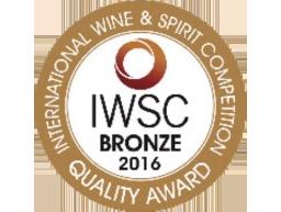 Bronzen medaille in 2016 - International Wine & Spirits competition (IWSC)