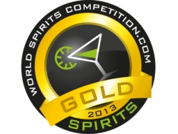 Gouden medaille in 2013 - World Spirits Competition
